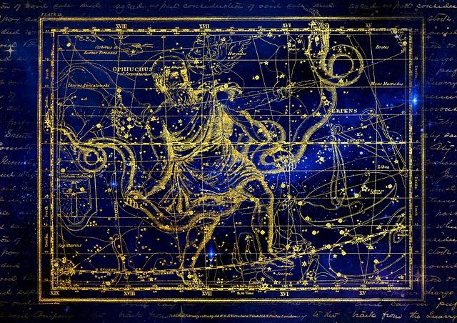 Pixabay - Ophiuchus Constellation