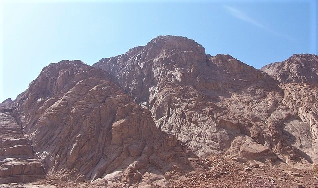 Pixabay - Mount Sinai