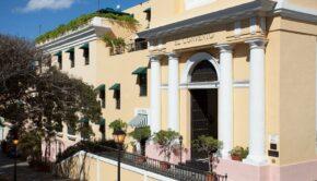 Fachada hotel El Convento. Suministrada.