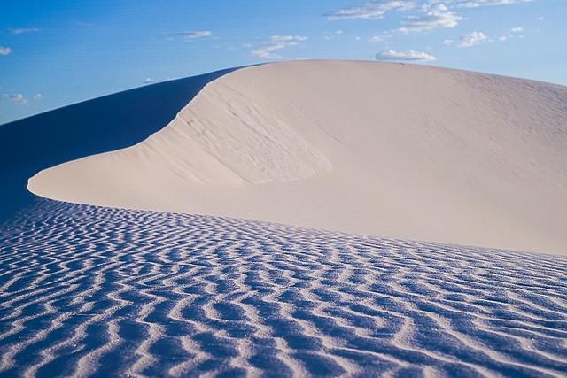 Pixabay - dunes-2820981_640 White sands