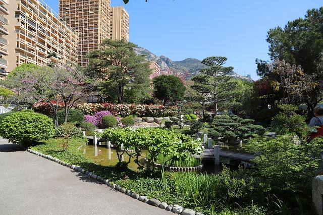 Pixabay - Monaco garden